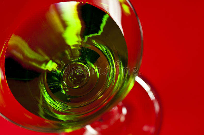 Download Green Drinks In Martini Glass Stock Photo - Image: 15719232