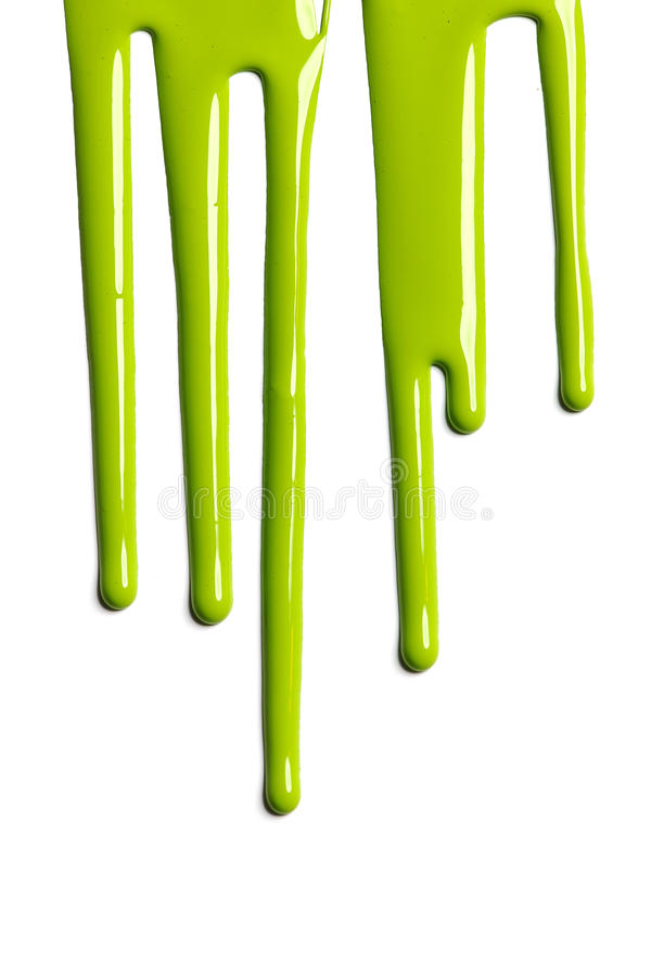 Download Green Dripping Paint stock image. Image of liquid, pigment - 26185031
