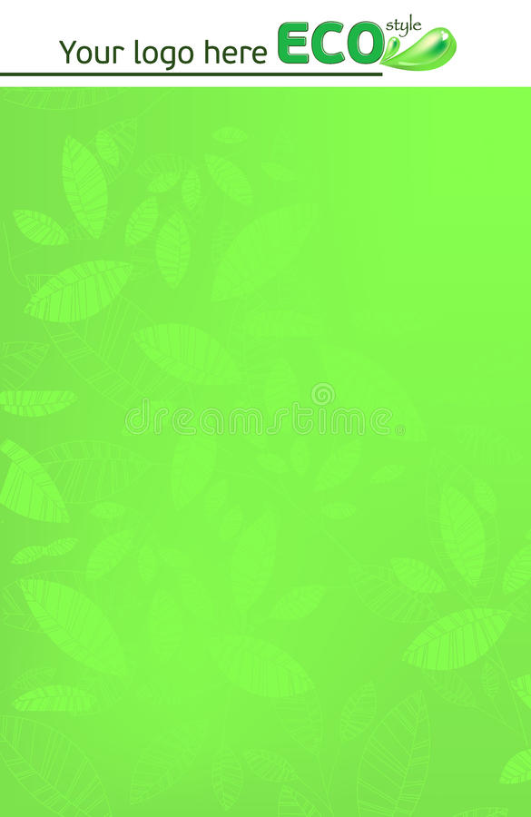 Green_drop royaltyfri bild