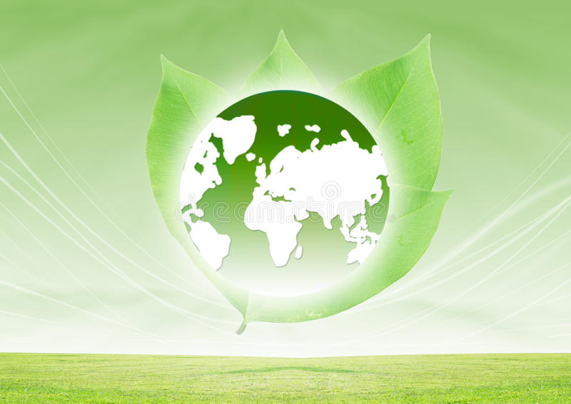 Download Green Earth stock illustration. Image of background, clean - 28091166