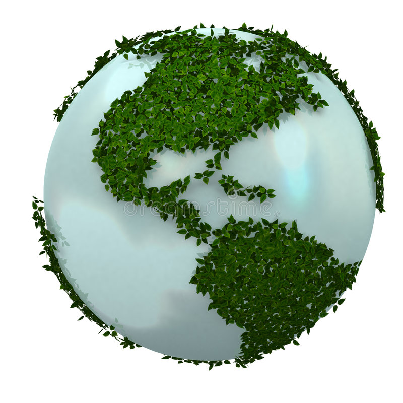 Download Green Earth Stock Image - Image: 6622611