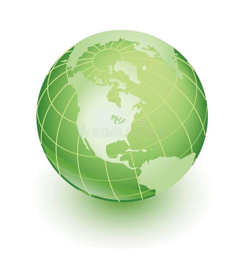 Green Earth Royalty Free Stock Photo