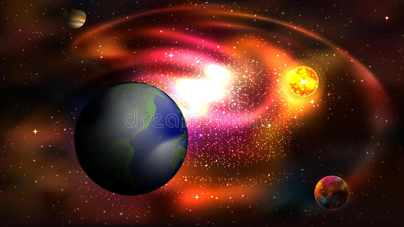 Green_earth. Imagine that our earth were located in another galaxy. It would be ideal living conditions for all. The ideal temperature for the planet. Circle