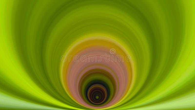 Green Earth Swirl stock image