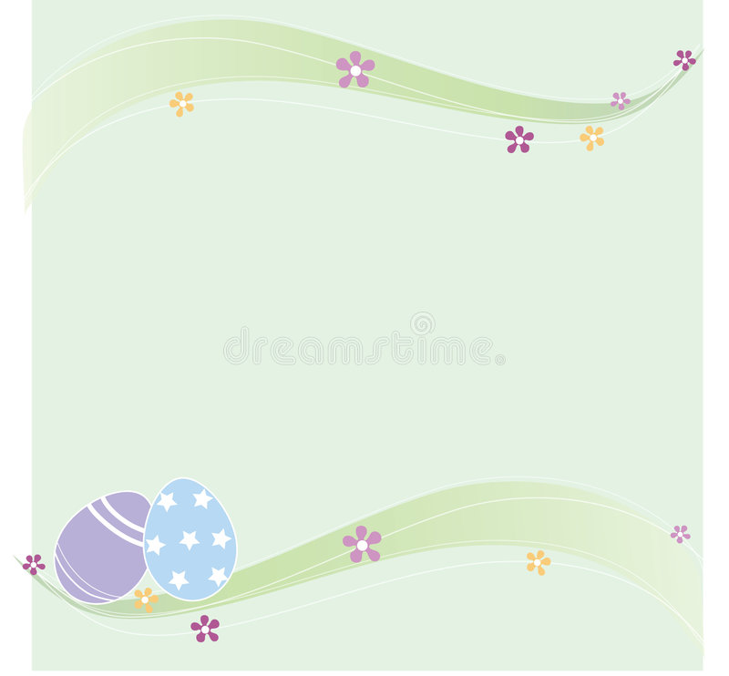 Free Green Easter Background Stock Image - 8408391
