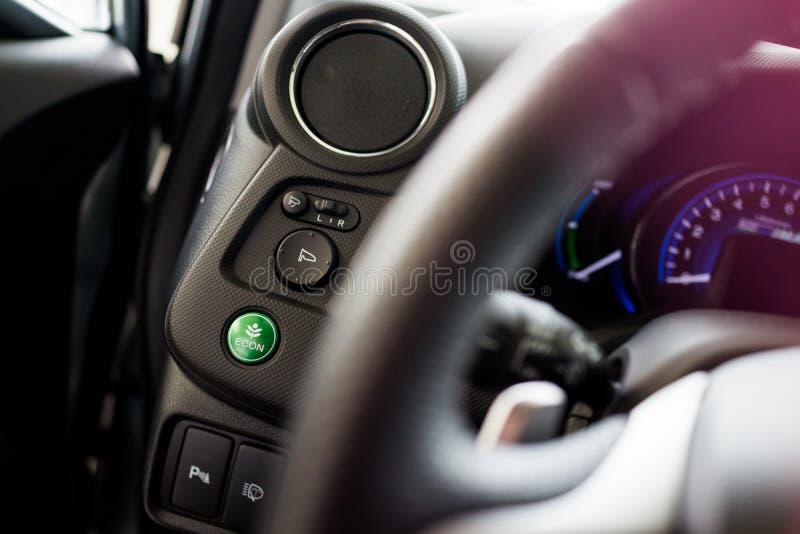 Green Economy Button Stock Photos