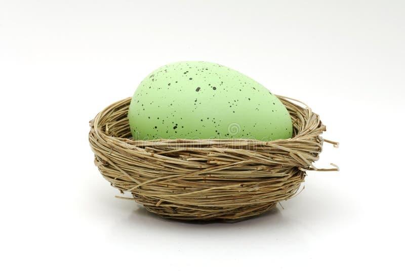 Download Green Egg stock photo. Image of seasonal, decoration, conceptual - 611754