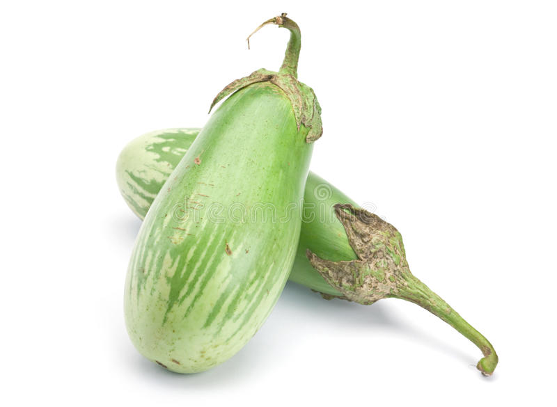 Green Eggplant Vegetable Royalty Free Stock Photography