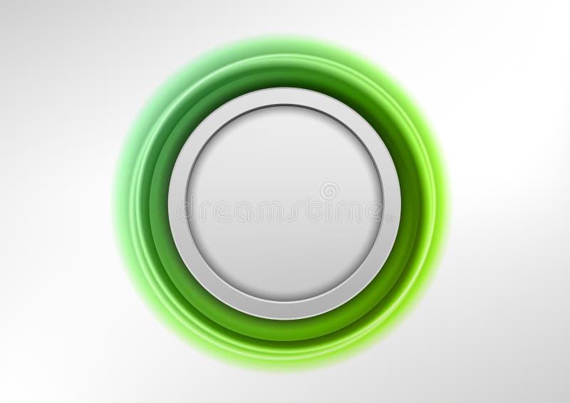 Green Emblem Royalty Free Stock Photos