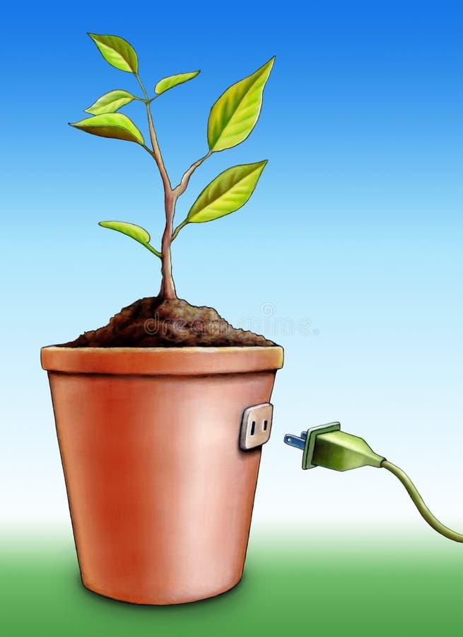green energii ilustracja wektor