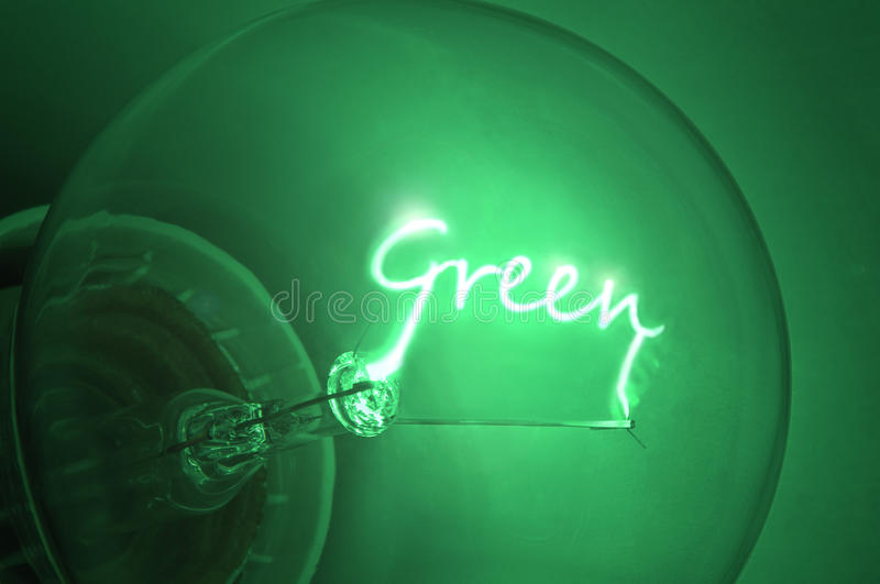 Green energy. royalty free stock photo