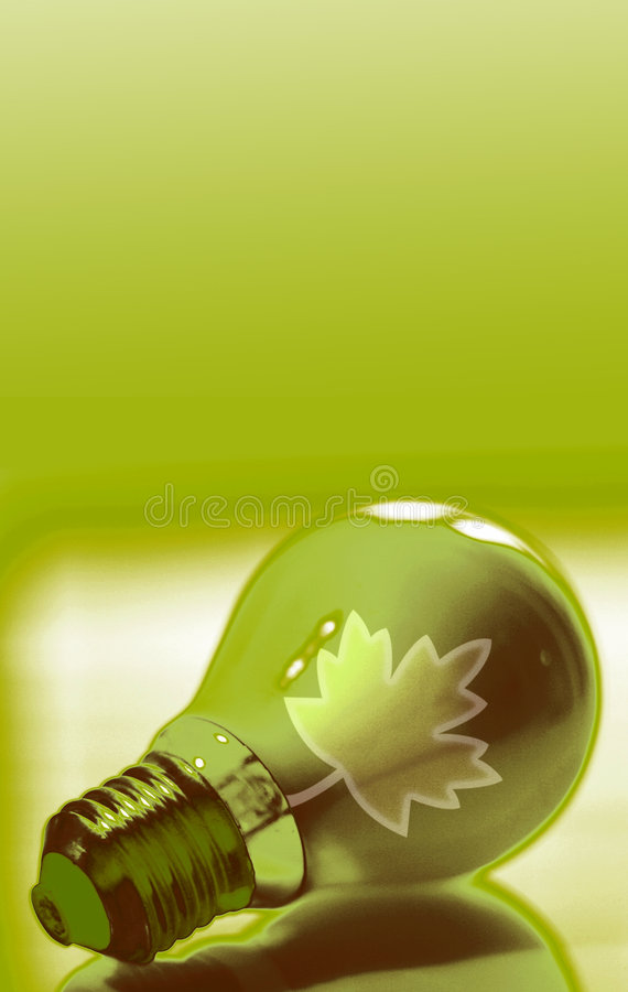 Green energy royalty free illustration