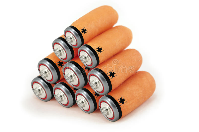 Download Green Energy Batteries Concept Stock Images - Image: 14268634