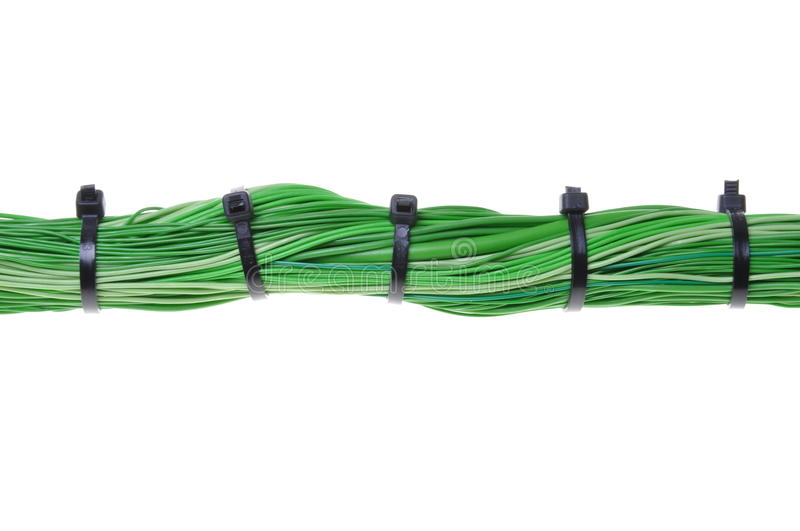 Download Green Energy, Cables In Global Computer Network Stock Photo - Image of isolated, industry: 28583012
