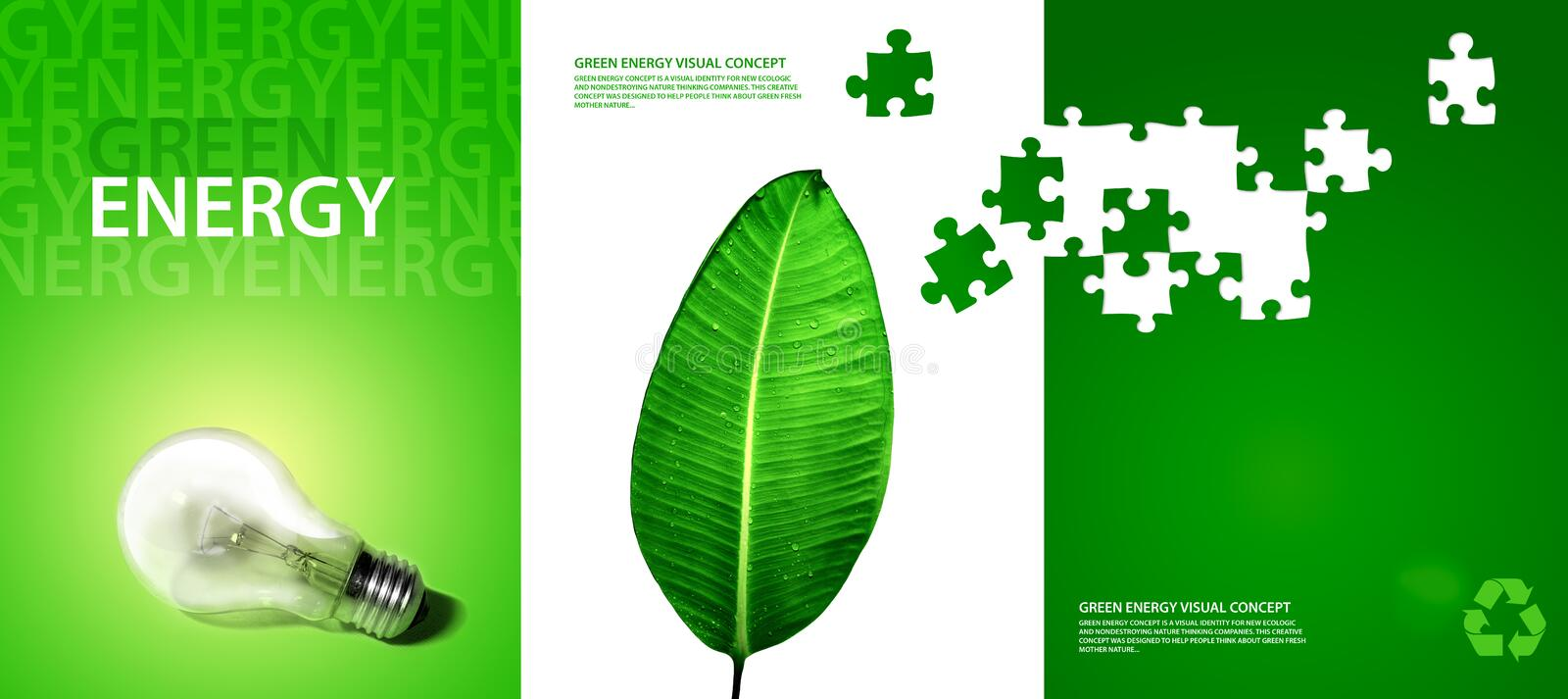 Download Green energy concept stock illustration. Image of banner - 7953479