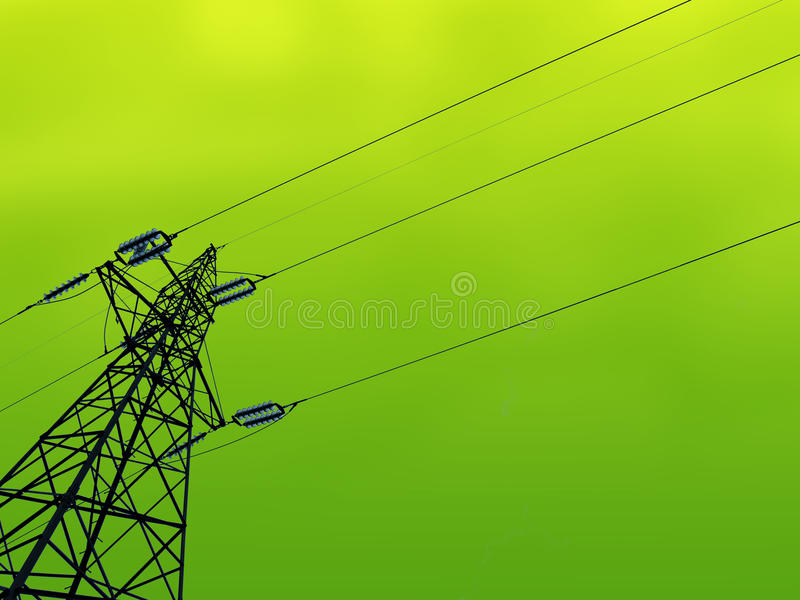 Green Energy. The concept of green ecological planet clean and green energy