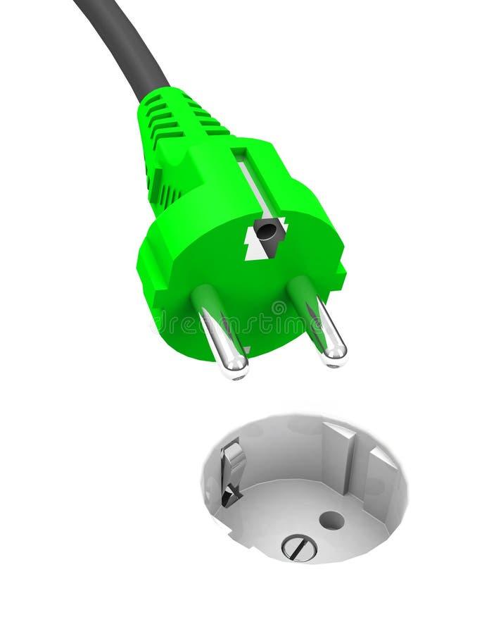 Green Energy Stock Illustration