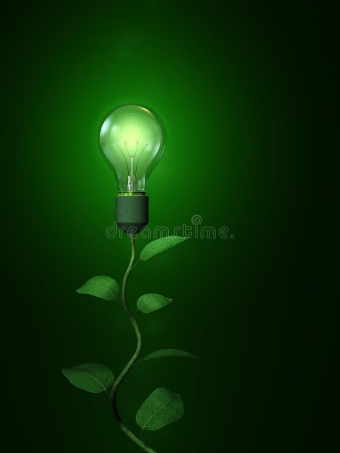 Download Green Light Lamp Bulb stock illustration. Illustration of equipment - 7042217