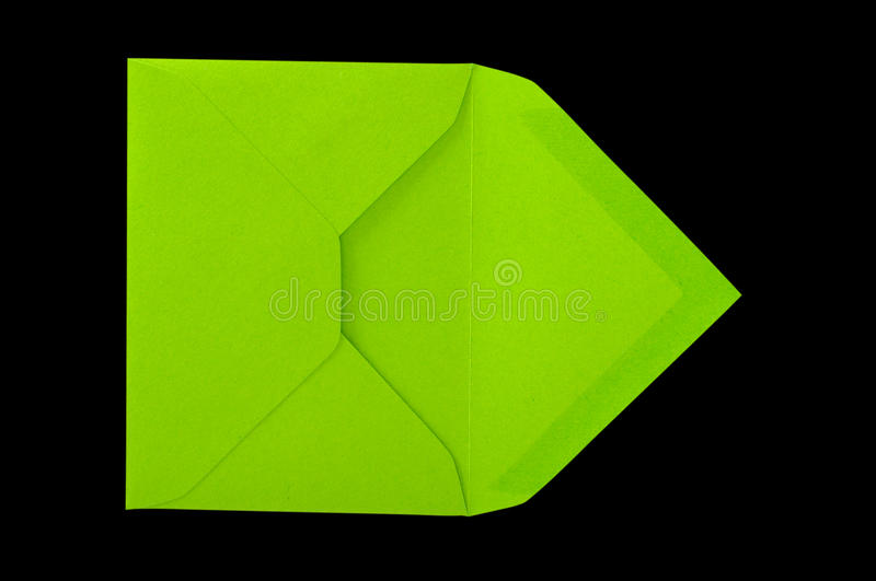 Download Green envelope. stock image. Image of letter, content - 17487971