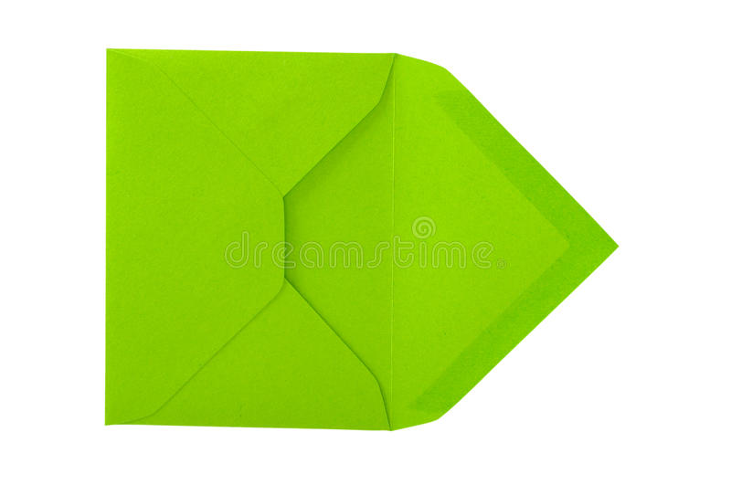 Download Green envelope. stock photo. Image of receive, post, have - 17488134
