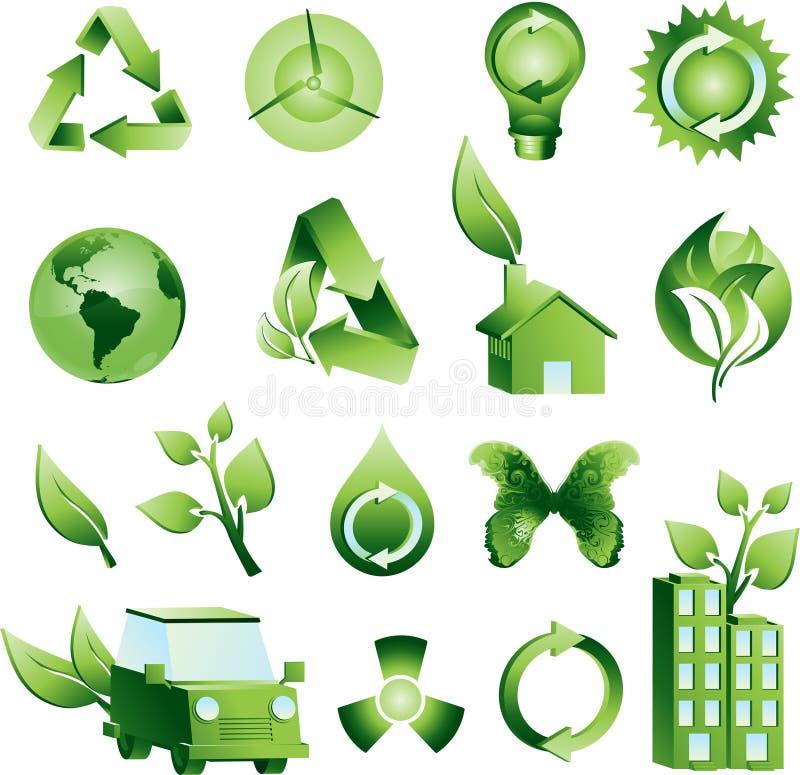 Green Environment stock illustration