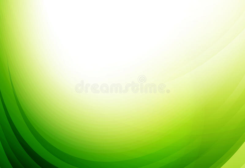 Green environmental abstract background royalty free illustration