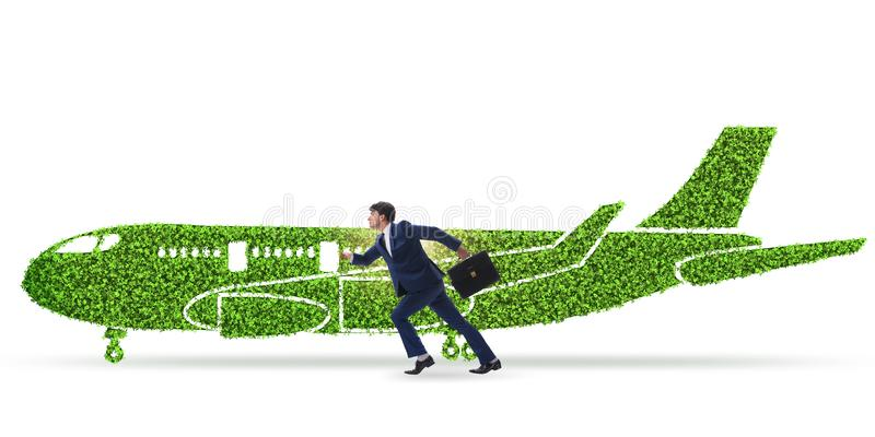 The green environmentally friendly vehicle concept. Green environmentally friendly vehicle concept stock photography