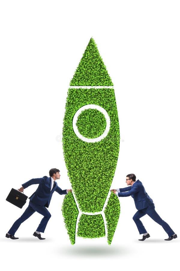 The green environmentally friendly vehicle concept royalty free stock photos