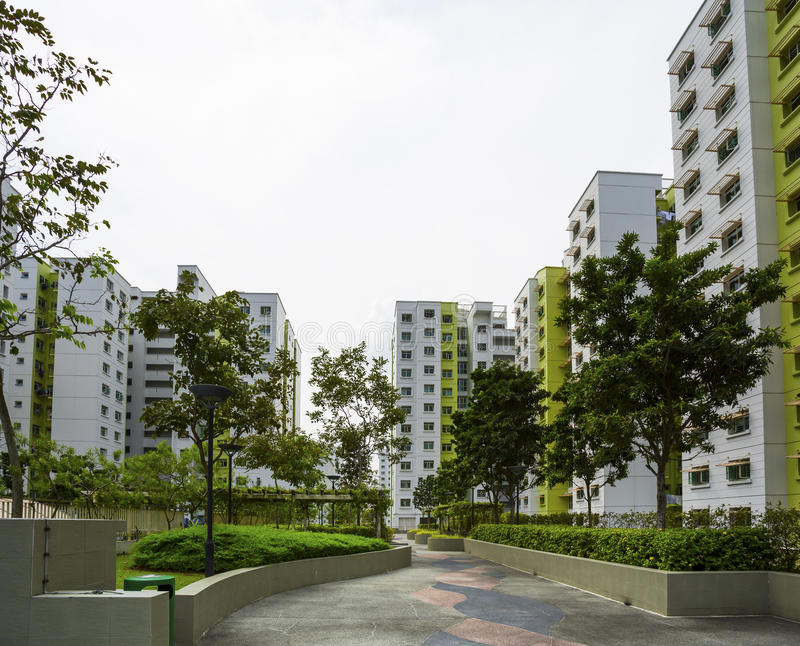 Download Green Estate stock image. Image of accommodation, high - 34202673