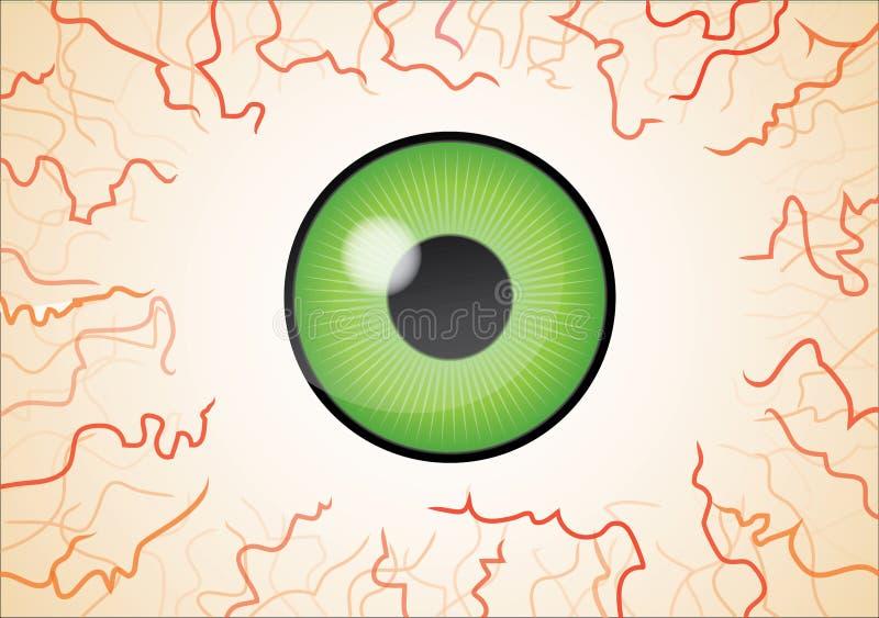 Download Green Eye Wallpaper Royalty Free Stock Images - Image: 20432369
