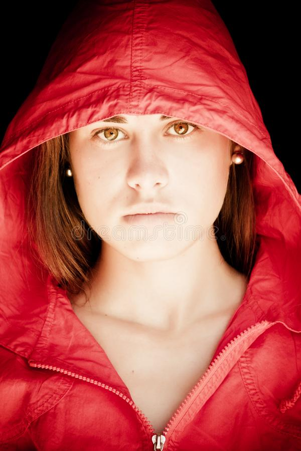 Download Green Eyed Beauty Staring At Camera Stock Photo - Image of model, contrast: 8913700