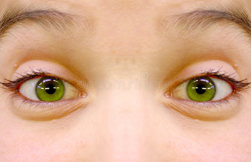 Download Green Eyes stock photo. Image of look, happiness, deep, clear - 76812