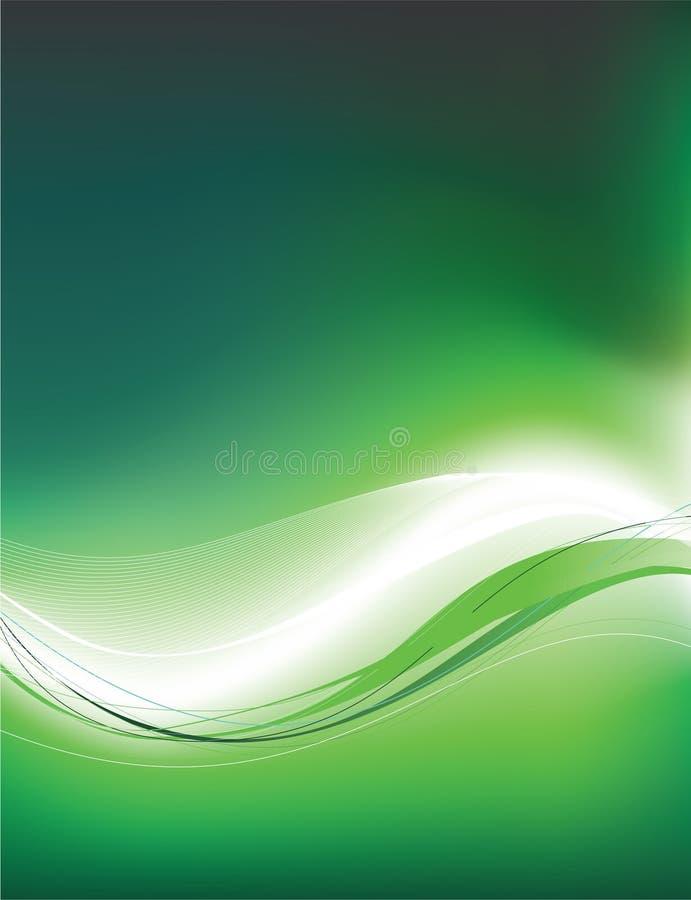 green för 2 bakgrund vektor illustrationer