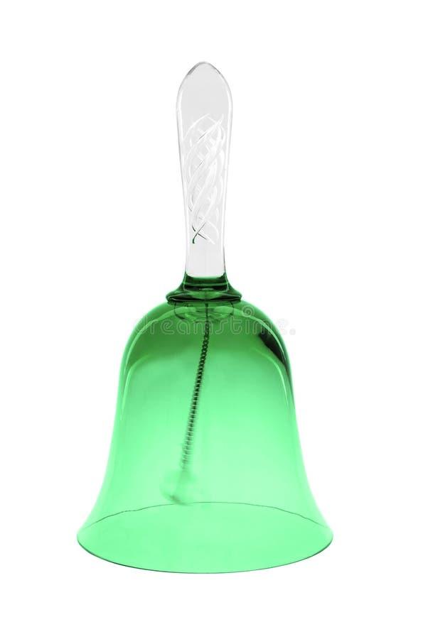 green för klockaexponeringsglas arkivfoto