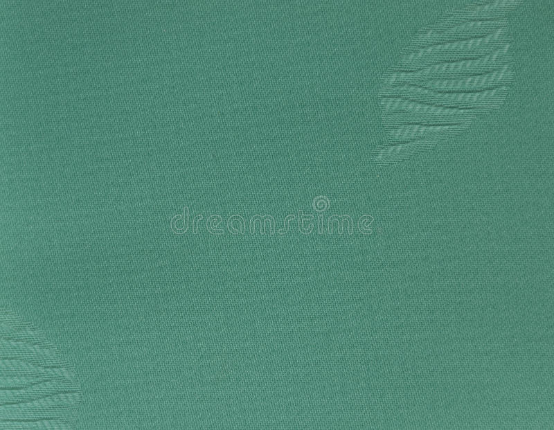 Green Fabric with Patches. Fabric Burlap Cotton Linen Material Canvas Textile stock photo