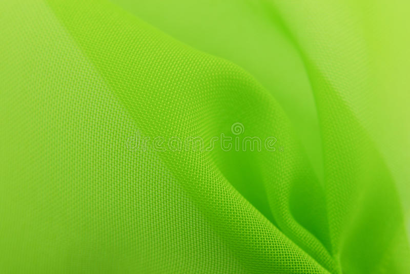 Green fabric texture background stock photography