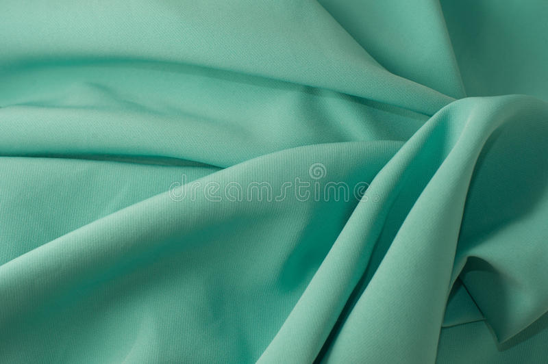 Green fabric texture royalty free stock image