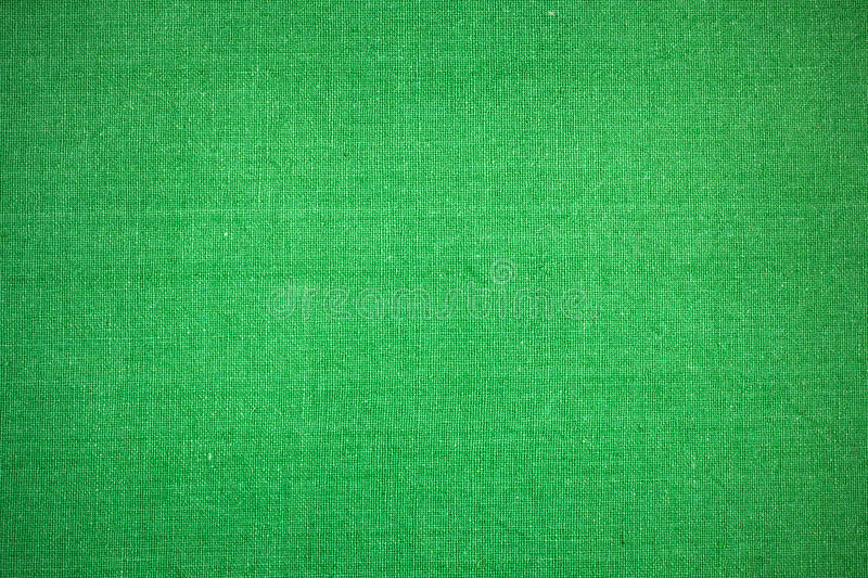 Green fabric texture close-up stock images