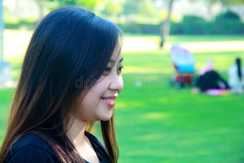 Green, Facial Expression, Grass, Girl stock images