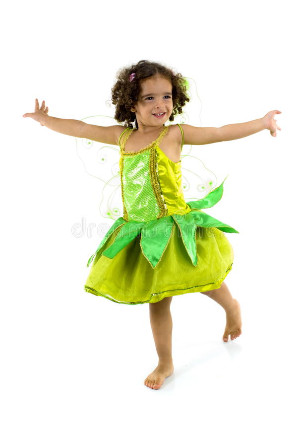 Download Green Fairy stock photo. Image of child, wand, fairy - 12465768