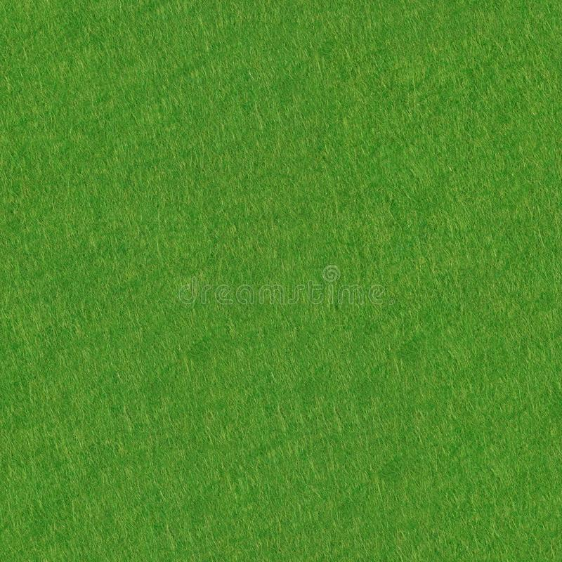 Green felt background. Seamless square texture, tile ready. High resolution photo stock photo