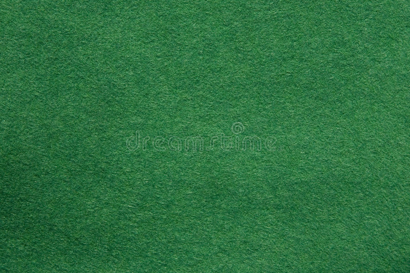 Green felt texture royalty free stock image
