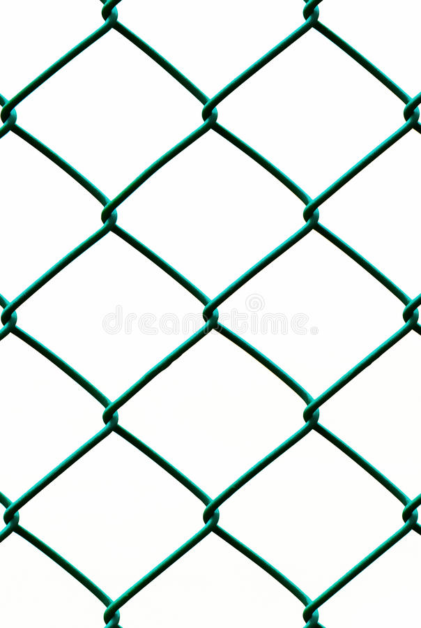 Green Fence Isolated On White Background, Vertical Pattern Stock ...