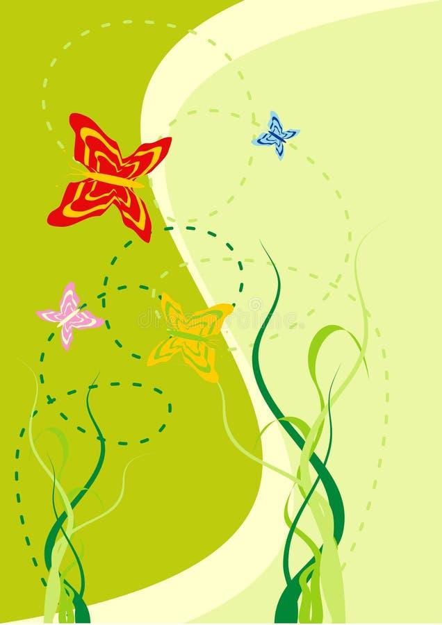 Green fever stock illustration