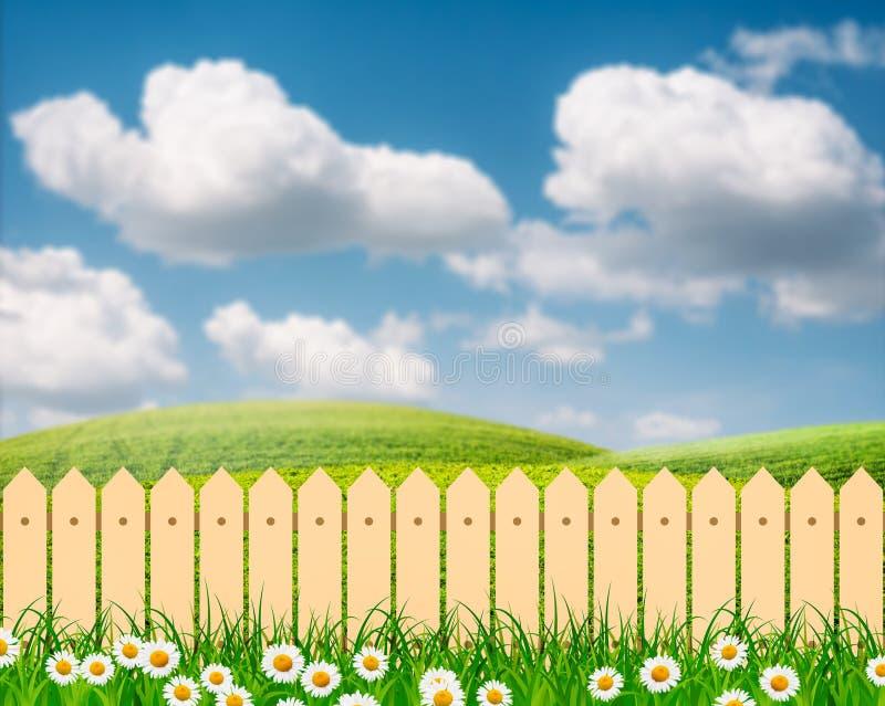 Fence Flower Garden Clip Art - Grass - Gardening Clipart Transparent PNG