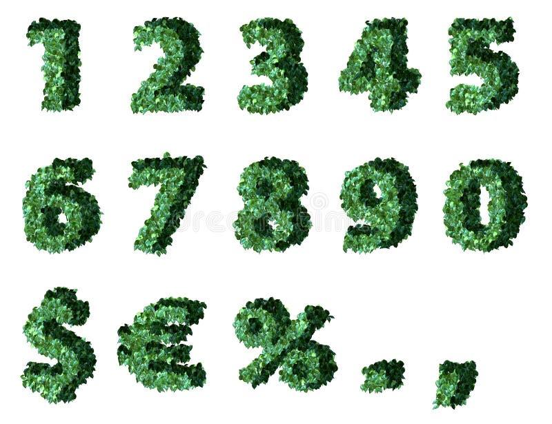 Green figures stock illustration