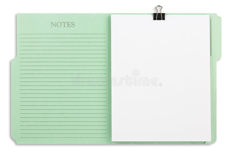 Download Green File Folder With Path Stock Photo - Image: 8308348