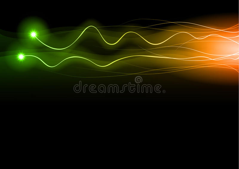 Green Flash Royalty Free Stock Photography