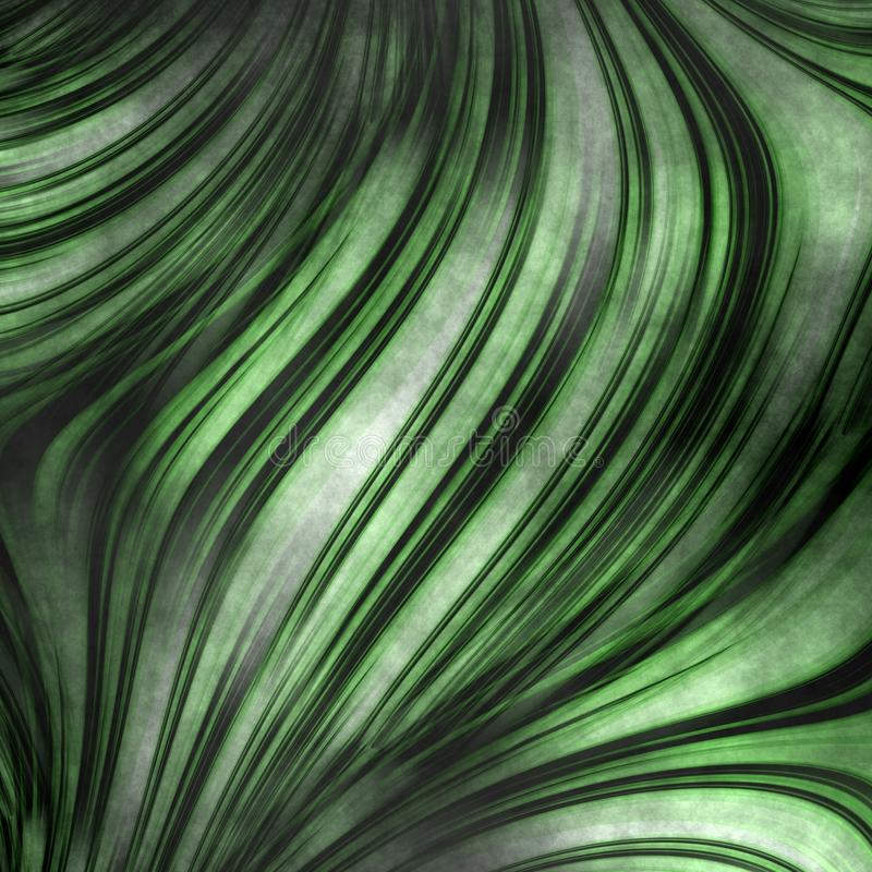 Green floral grungy texture royalty free illustration
