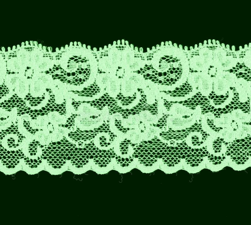 Download Green floral lace band stock image. Image of green, band - 11608211